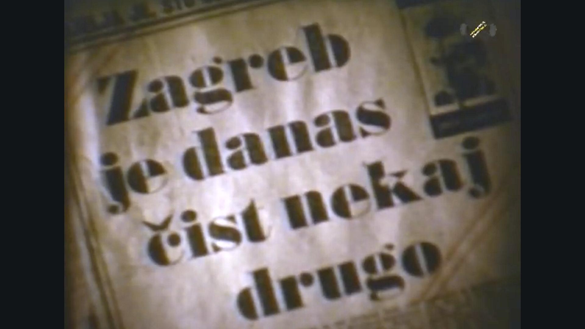Zagreb je danas ?ist nekaj drugo