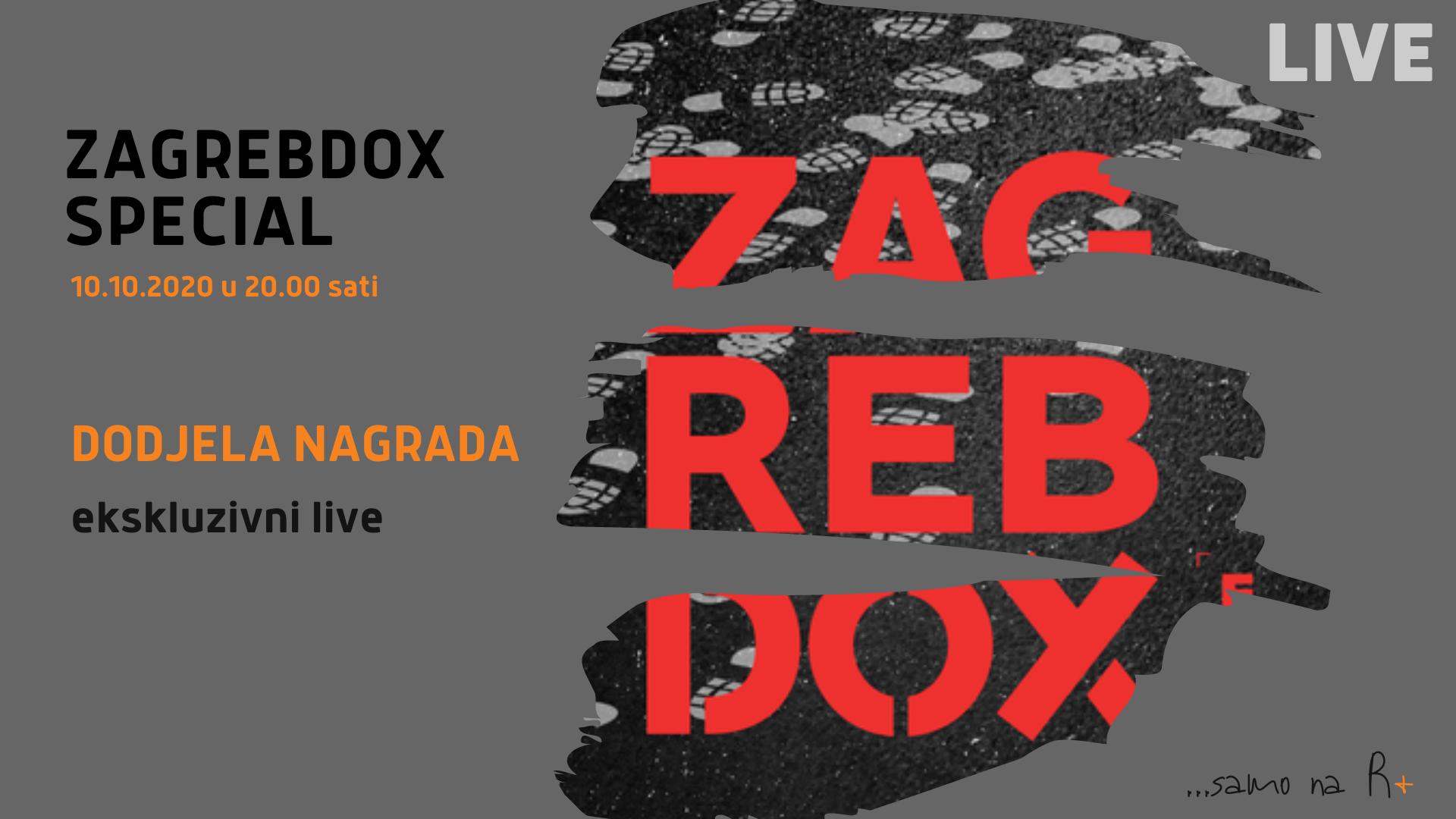 R+: ZagrebDox Special: Dodjela nagrada | Ekskluzivni live