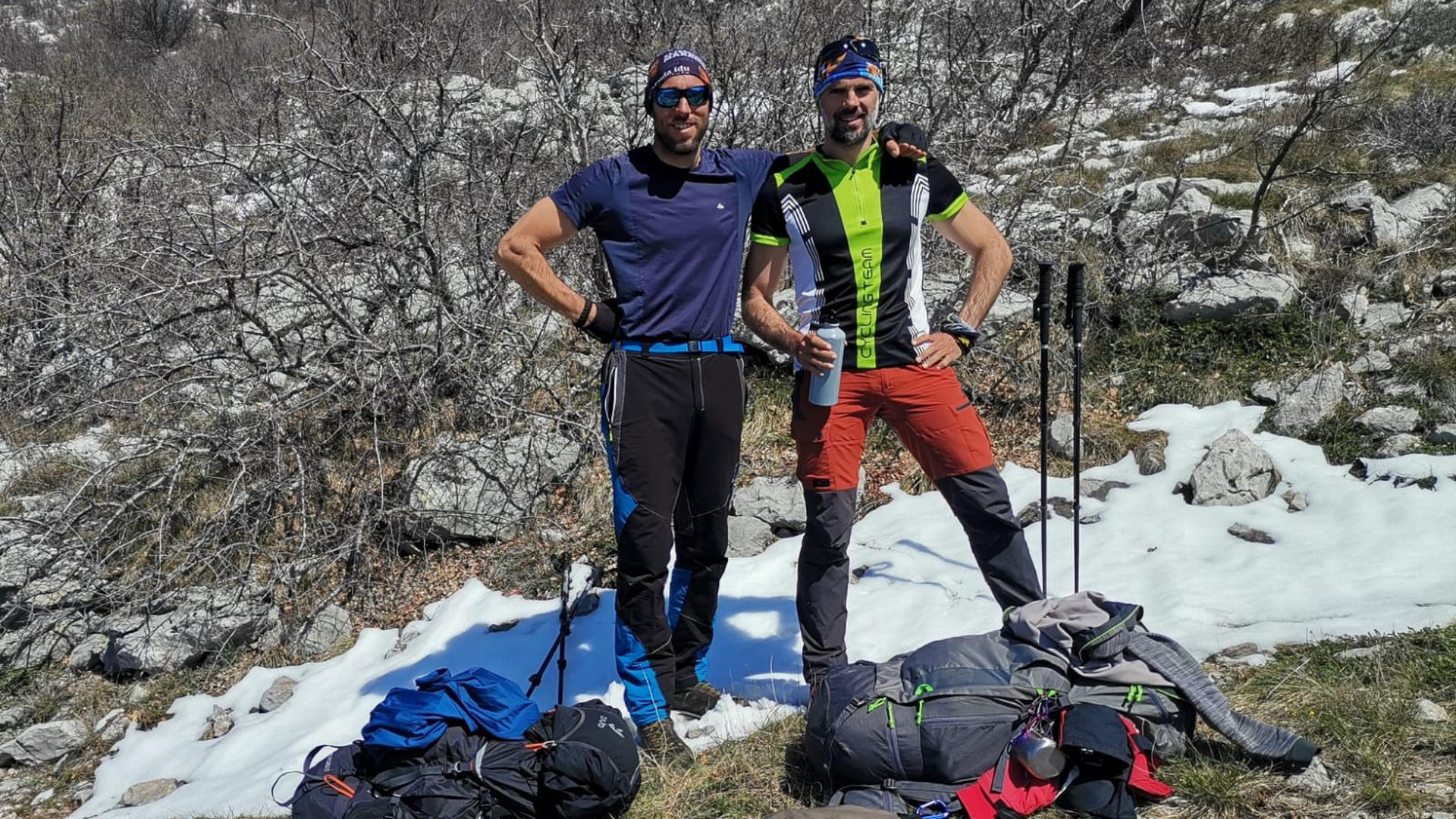 5. etapa akcije 1100 km za 1100 terapija | Daniel Lončar i Ranko Dragičević osvojili najviši vrh Velebita