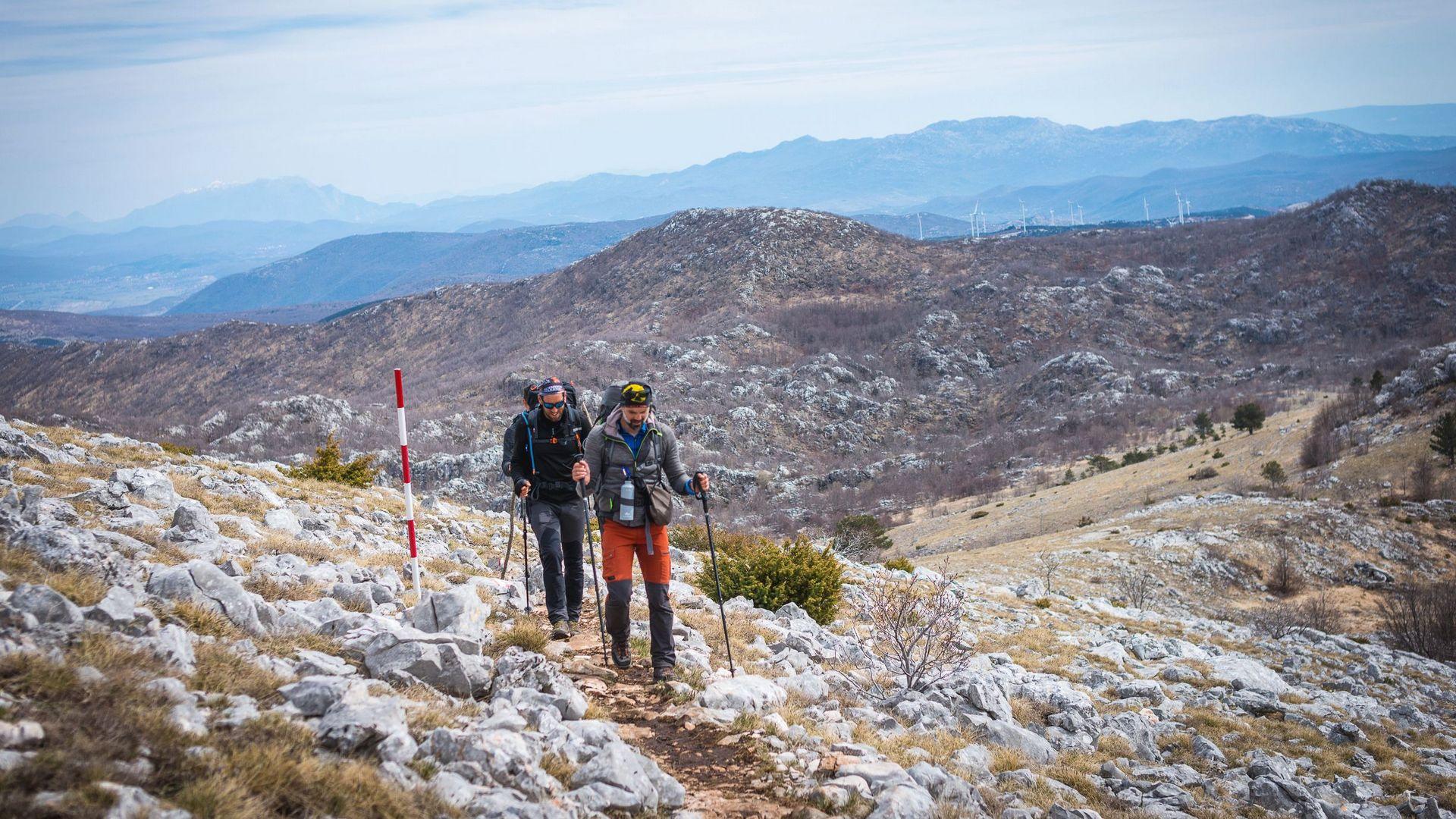 Planinarski duo ostvario 1100 kilometara dugu humanitarnu akciju | Brački pupoljci