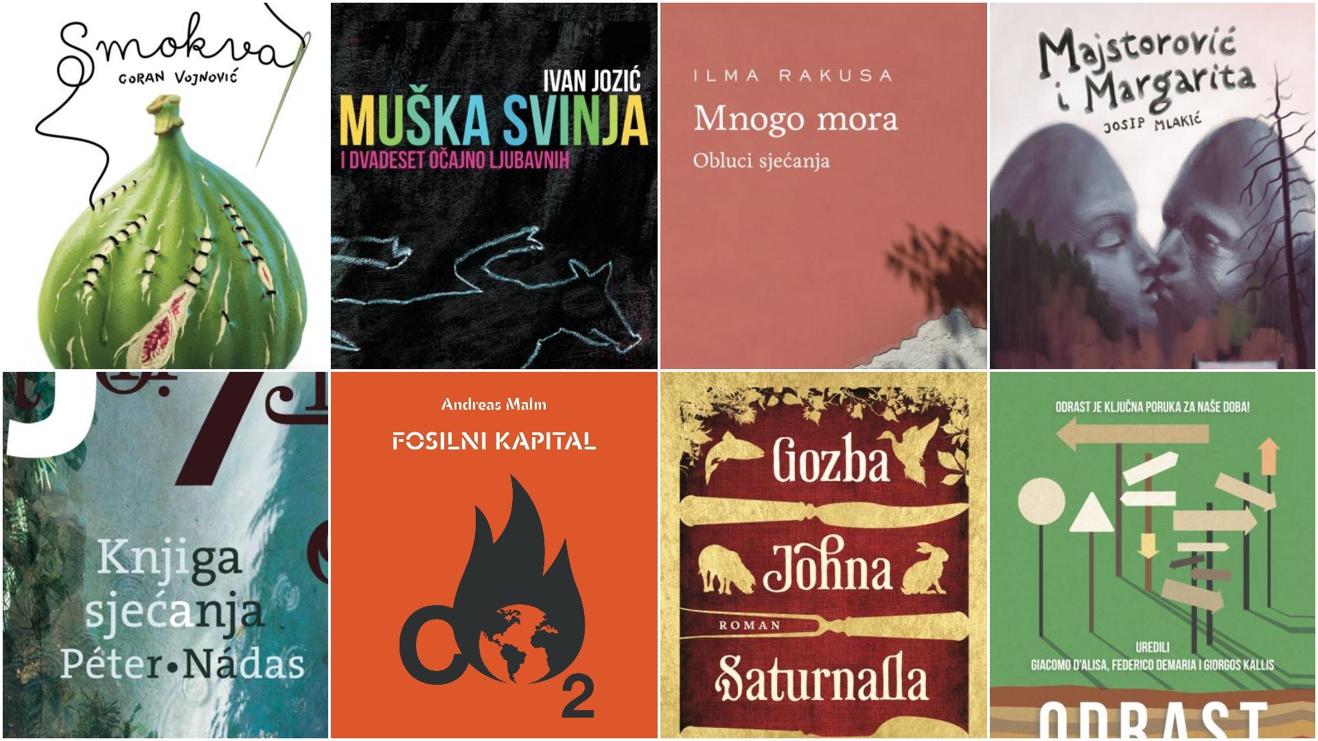 Odlični naslovi za 50 ili 70 kuna | Književni prijedlozi u travnju