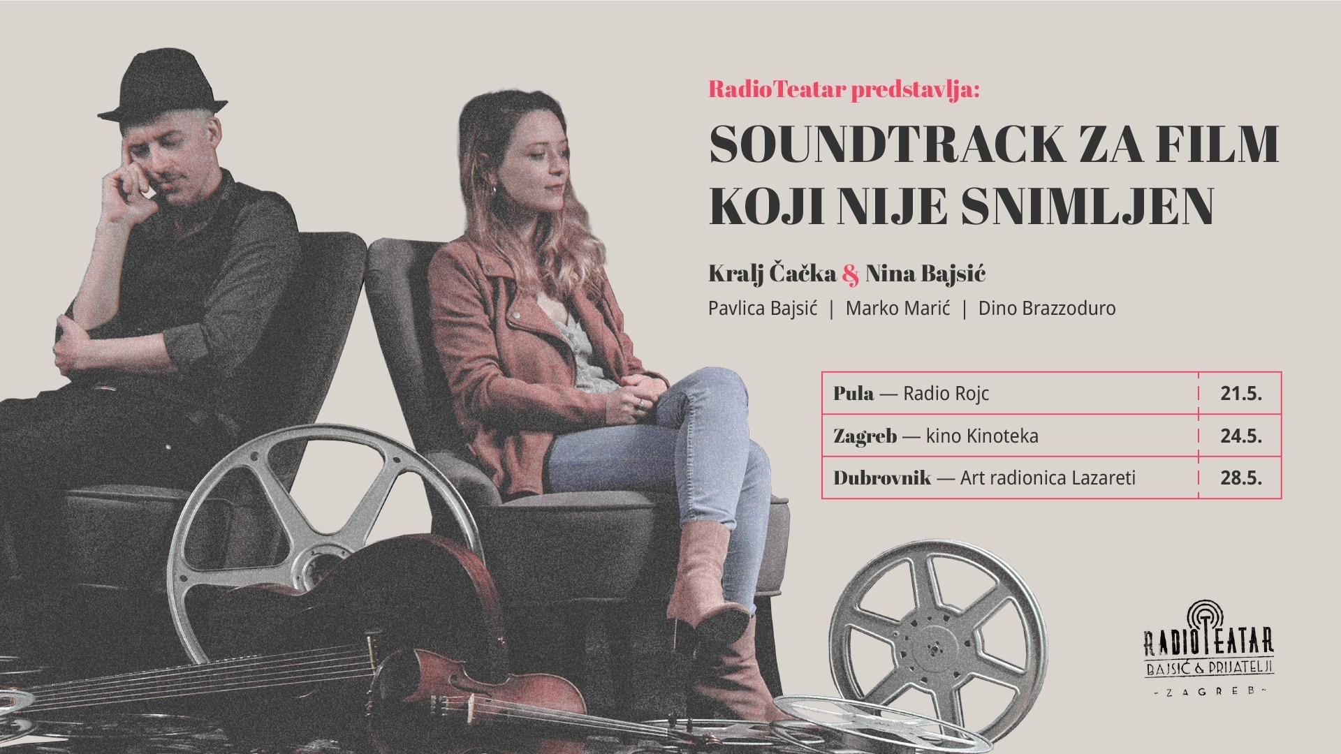 Premijera RadioTeatra | Soundtrack za film koji nije snimljen