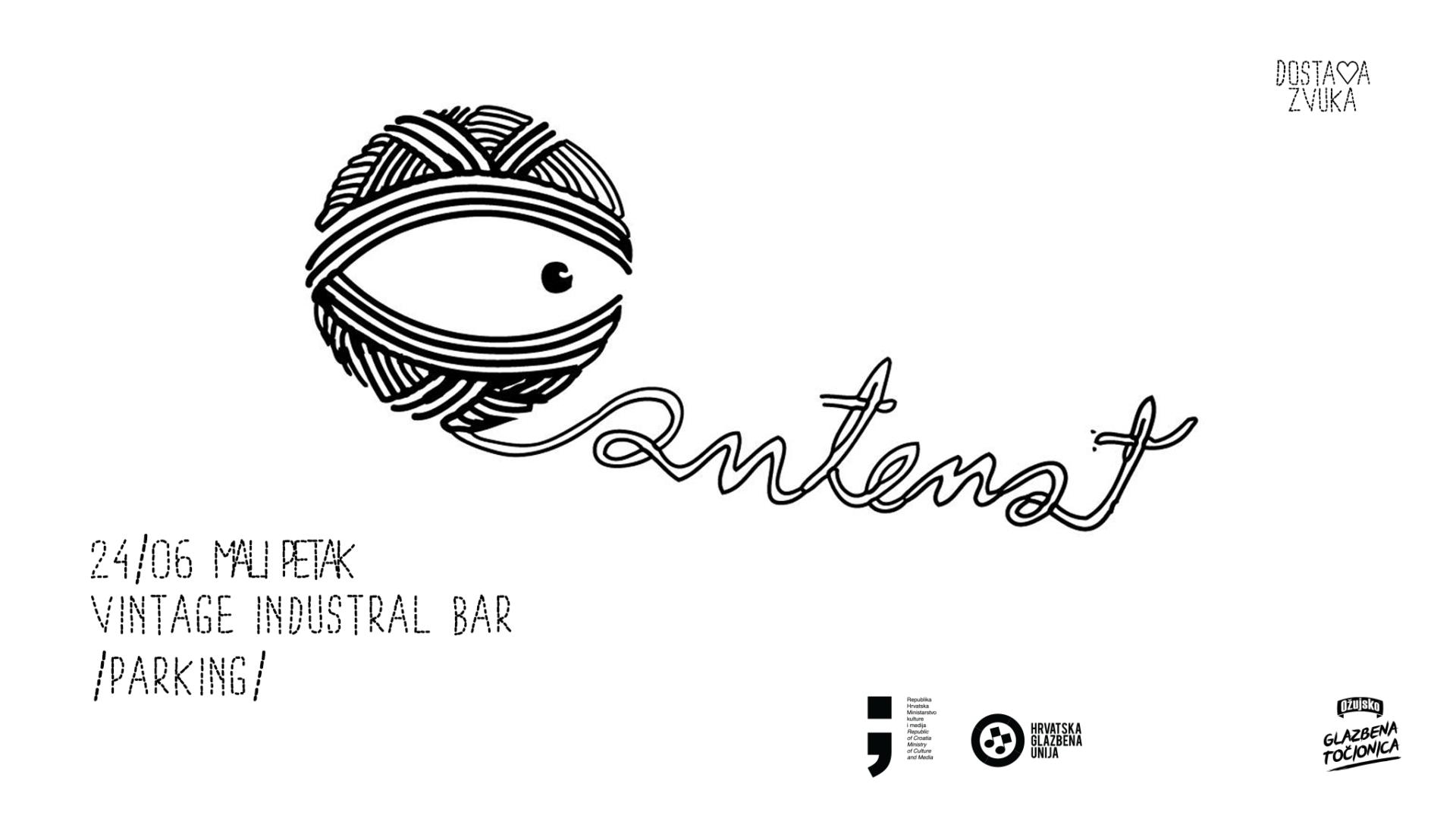 Antenat | Koncert na parkingu Vintage Industriala