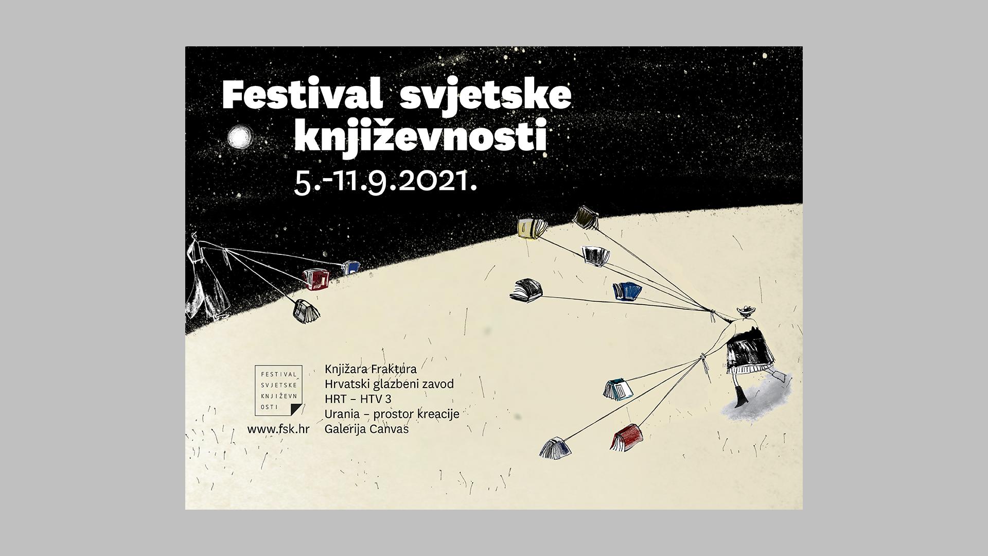 Najveća imena svjetske i hrvatske književnosti dolaze u Zagreb | Festival svjetske književnosti
