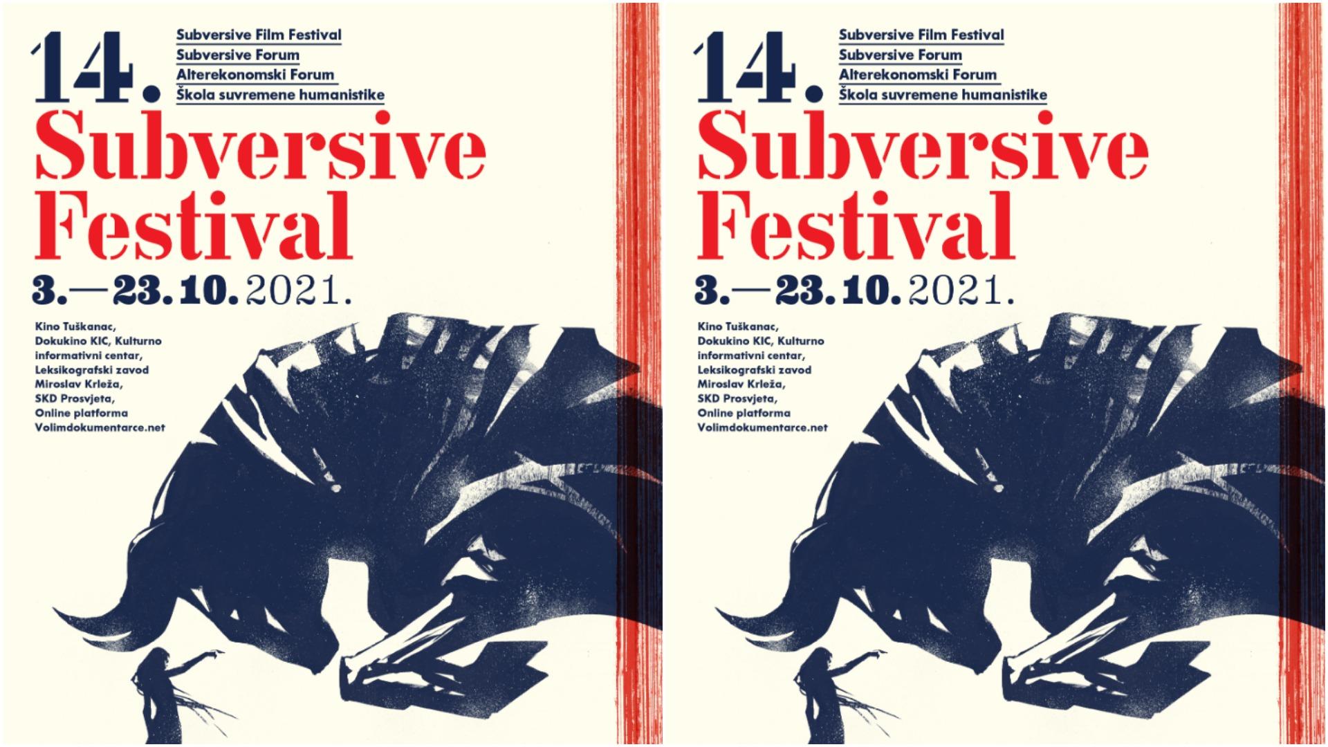 Početak listopada u znaku 14. izdanja Subversive Festivala | Uživo i online!