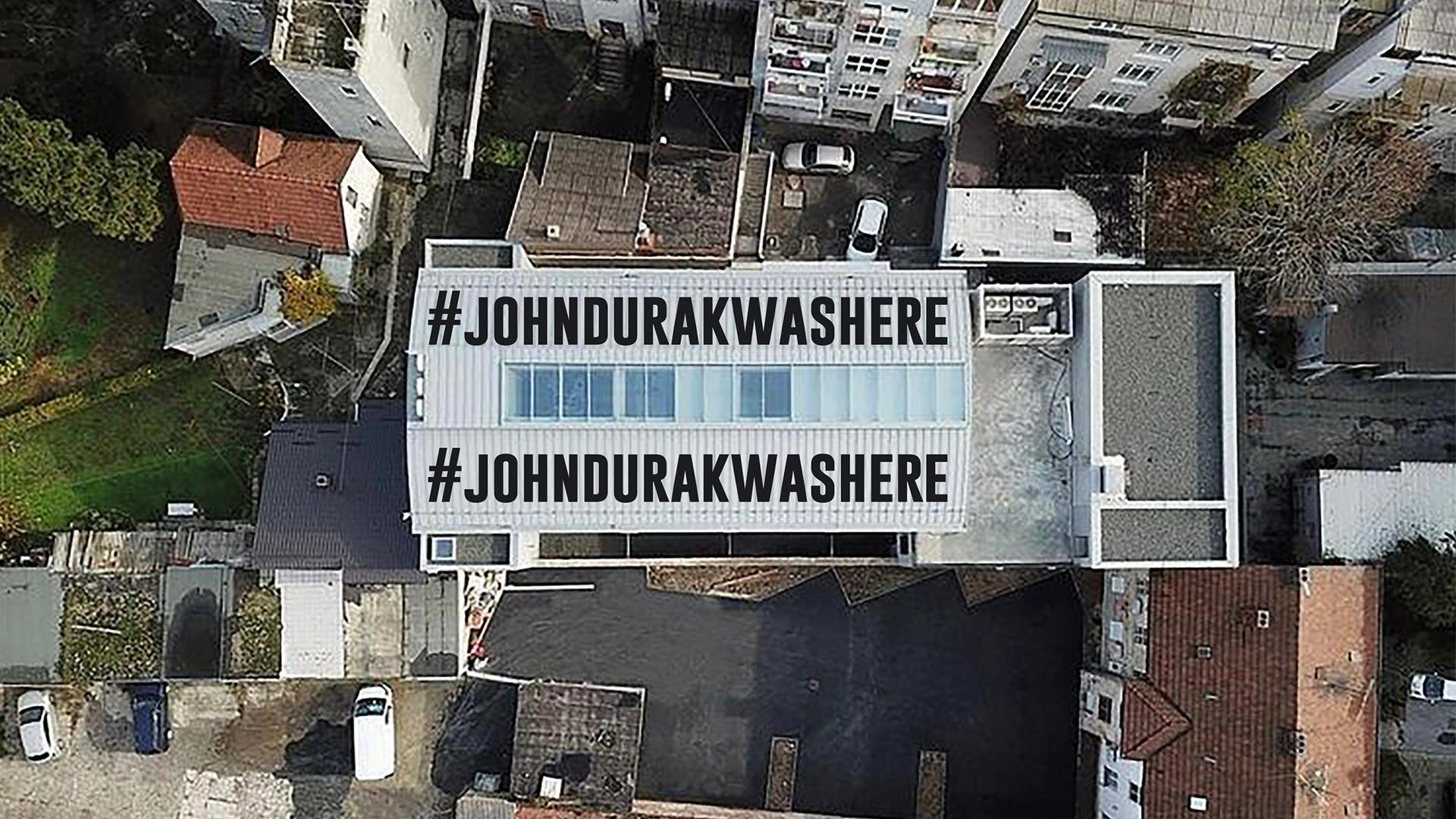 #johndurakwashere | Izložba u Uraniji - prostoru kreacije